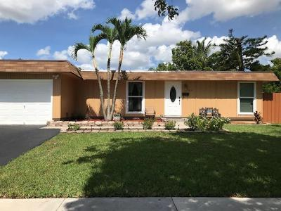 Tamarac Single Family Home For Sale: 7822 NW 68th Terrace NW