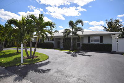 Delray Beach Single Family Home For Sale: 316 Beverly Drive