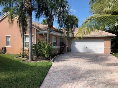 Delray Beach Single Family Home For Sale: 13279 Majestic Pine Court