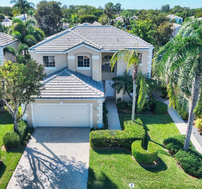 Boca Raton Single Family Home For Sale: 23371 Feather Palm Court