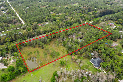 Jupiter Single Family Home For Sale: 11455 Randolph Siding Road