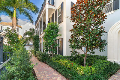 Delray Beach Townhouse For Sale: 123 Lily Lane