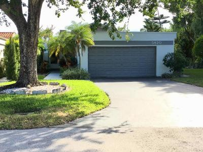 Boynton Beach Single Family Home For Sale: 5820 Piping Rock Drive