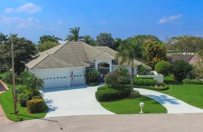 Palm Beach Gardens Single Family Home For Sale: 10605 Avenue Of The Pga