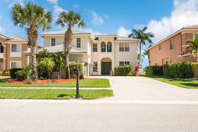 Royal Palm Beach Single Family Home Contingent: 191 Bella Vista Way