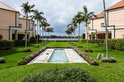 Palm Beach Townhouse For Sale: 301 Everglade Avenue #10