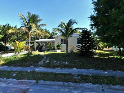 Fort Pierce Single Family Home For Sale: 1012 Sunrise Boulevard
