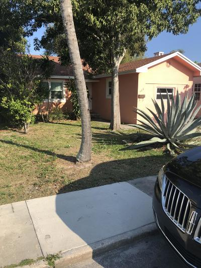 Lake Worth Single Family Home For Sale: 408 S K Street