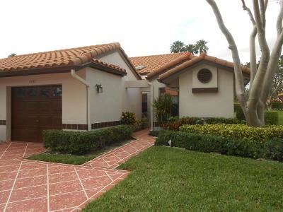 Delray Beach Single Family Home For Sale: 6081 Sunrise Pointe Court #B