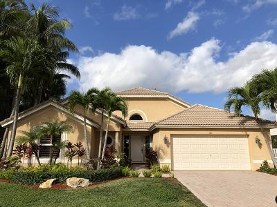 Palm Beach Gardens Single Family Home Contingent: 101 Lone Pine Lane