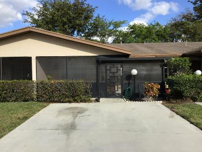 Delray Beach Single Family Home For Sale: 14586 Candy Way