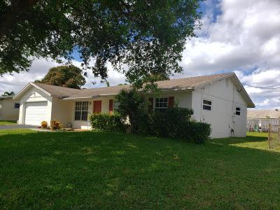 Boynton Beach Single Family Home For Sale: 1145 SW 24th Avenue