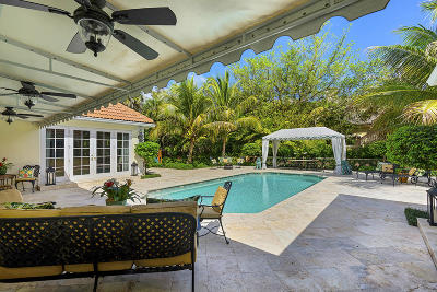 North Palm Beach Single Family Home For Sale: 12450 Indian Road