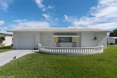 Boynton Beach Single Family Home For Sale: 718 SW 15th Street