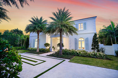 Palm Beach FL Single Family Home For Sale: $9,750,000