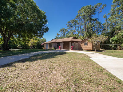 Fort Pierce Single Family Home For Sale: 5901 Winter Garden Parkway
