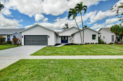 Boca Raton Single Family Home For Sale: 7470 San Sebastian Drive