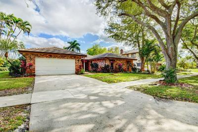 Boca Raton Single Family Home Contingent: 3432 Pine Haven Circle