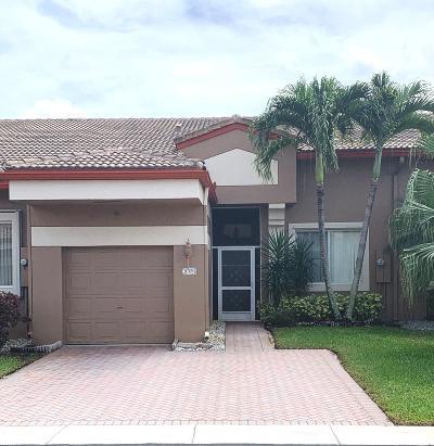 Tamarac Single Family Home For Sale: 10136 Lombardy Drive