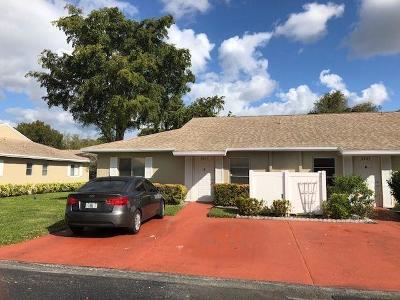 Boca Raton Condo For Sale: 8611 Overset Lane #8611