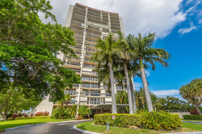 West Palm Beach Condo For Sale: 2000 Presidential Way #1506