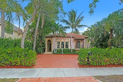 West Palm Beach Single Family Home For Sale: 131 Greenwood Drive