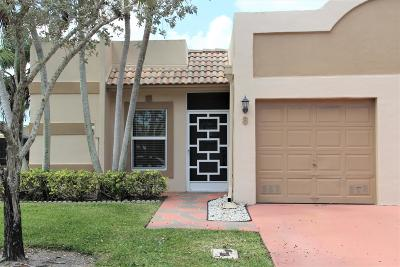Boca Raton Single Family Home For Sale: 18901 Haywood Terrace #8