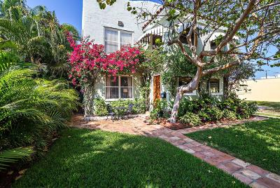 West Palm Beach Single Family Home Contingent: 509 Flamingo Drive