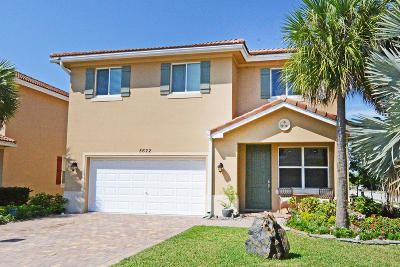 Greenacres Single Family Home For Sale: 5622 Caranday Palm Drive