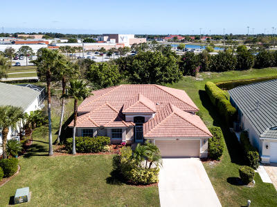 Saint Lucie West Single Family Home For Sale: 421 SW Crabapple Cove