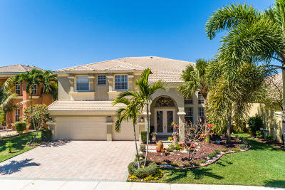 Royal Palm Beach Single Family Home For Sale: 2298 Ridgewood Circle