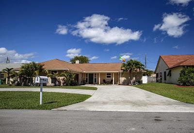 Jupiter Single Family Home For Sale: 4155 Robert Street