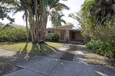 West Palm Beach Single Family Home For Sale: 422 31st Street
