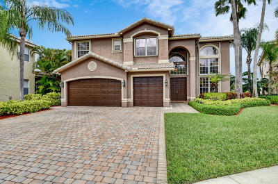 Delray Beach Single Family Home For Sale: 9515 Barletta Winds Point