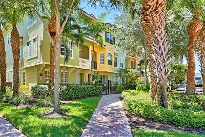Palm Beach Gardens Townhouse For Sale: 2403 San Pietro Circle