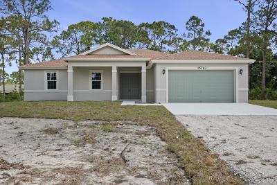 Loxahatchee Single Family Home For Sale: 15741 Tangerine Boulevard