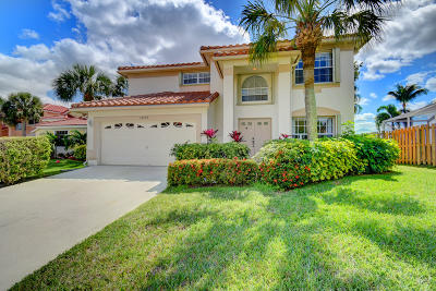Boca Raton Single Family Home For Sale: 10779 Buttonwood Lake Drive