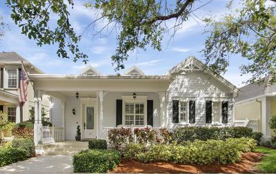 Jupiter Single Family Home For Sale: 210 Honeysuckle Drive