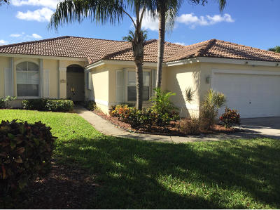 Lake Worth Single Family Home Contingent: 6743 Lake Nona Place