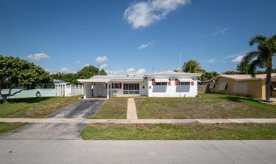 Boca Raton Single Family Home Contingent: 1383 SW 5th Street
