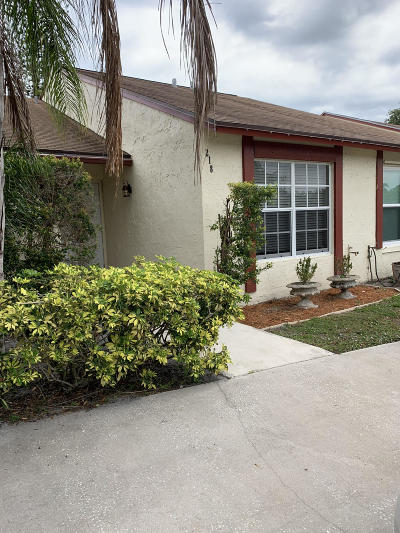 Jupiter FL Townhouse For Sale: $219,000