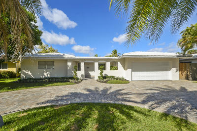 Wilton Manors Single Family Home For Sale: 2301 NE 16th Avenue