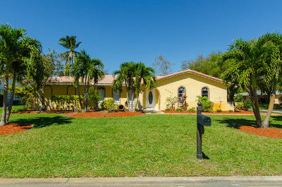 Coral Springs Single Family Home For Sale: 8453 NW 14th Street