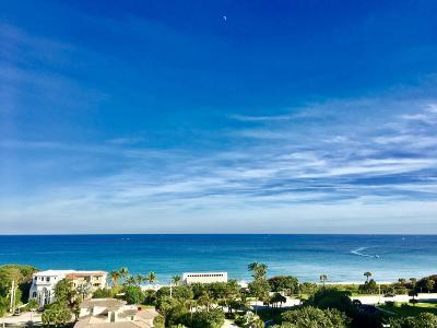 Highland Beach Condo For Sale: 4748 S Ocean Boulevard #805