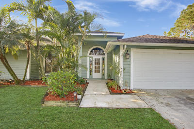Jupiter Single Family Home For Sale: 12330 184th Court