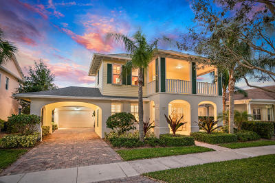 Jupiter Single Family Home For Sale: 1727 W Community Drive