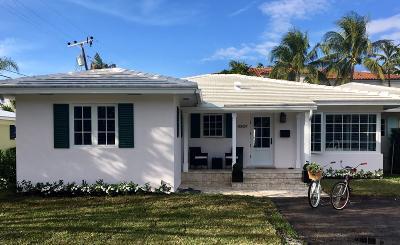 Delray Beach Single Family Home Contingent: 1007 Ingraham Avenue