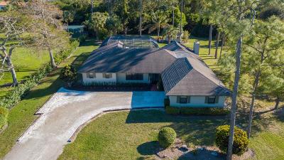 Lake Worth, Lakeworth Single Family Home For Sale: 9766 Saddle Court
