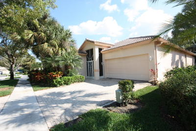 West Palm Beach Single Family Home For Sale: 9124 Bay Point Circle