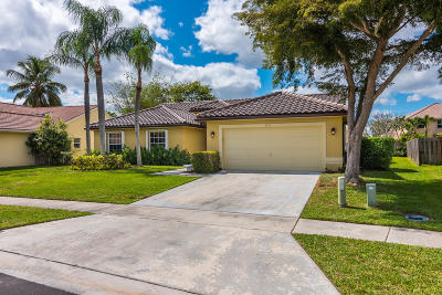 Boynton Beach Single Family Home For Sale: 9135 Chianti Court